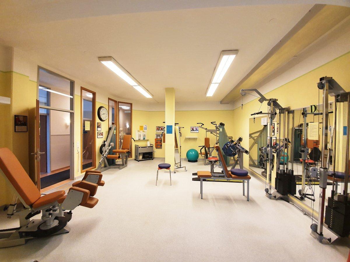 Fitnessraum Haus der Gesundheit