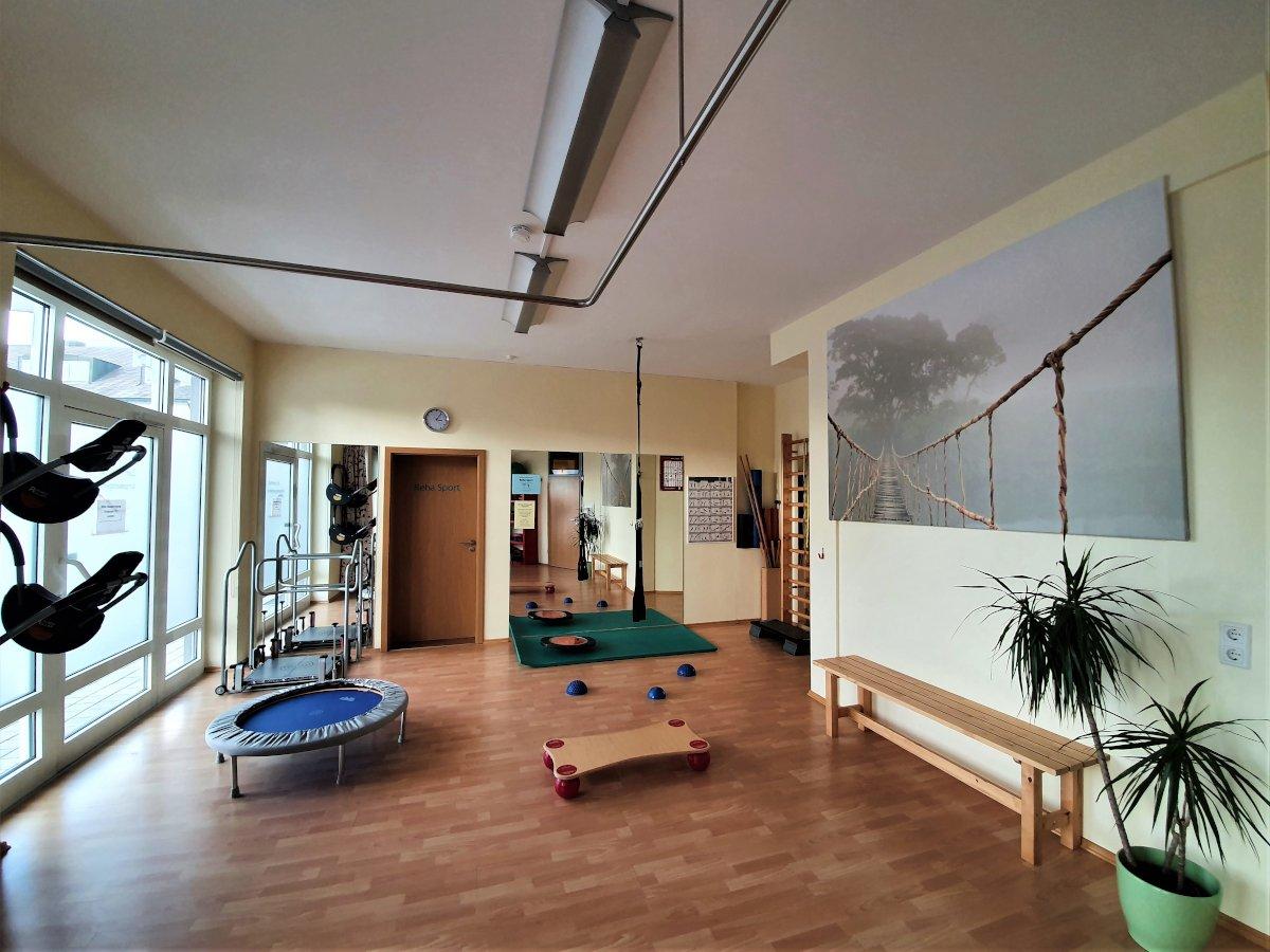 Fitnessraum Physiotherapie Thannhausen